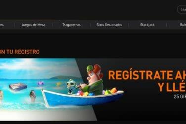 Casino 777 te ofrece 25 Tiradas Gratis como Bono de Registro, sin exigencia de depósito