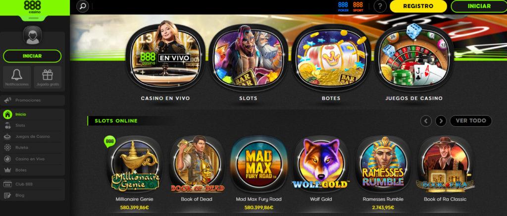 Bienvenidos a 888 casino online