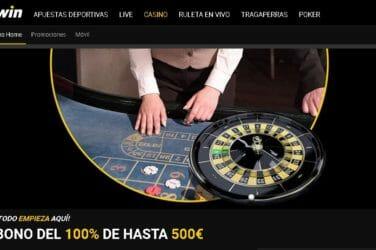 Bwin Casino te otorga 100% de tu Primer Depósito, hasta €500, como Bono de Bienvenida