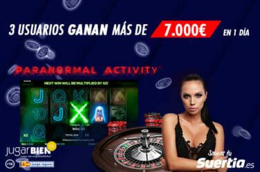 Ganador en Suertia Casino