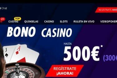 Bono de Bienvenida de hasta €500, con tus primeros dos depósitos, te ofrece Suertia Casino