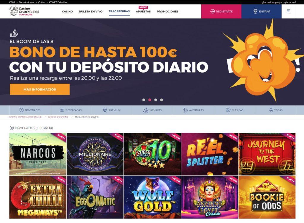 Casino Gran Madrid Juegos de Slots