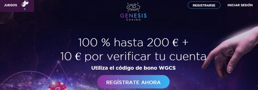 Reseña especializada de Genesis Casino y su oferta de tragaperras online