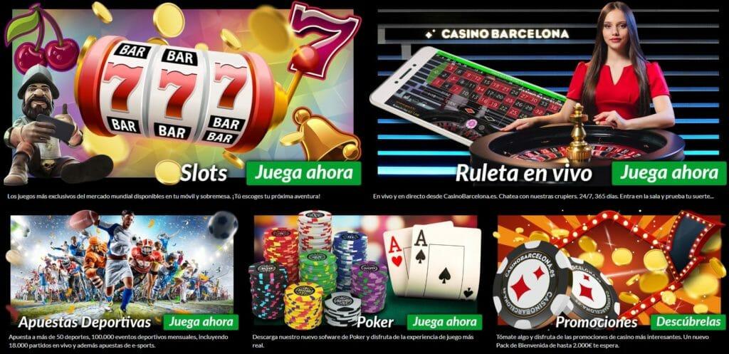 Juegos de Casino Barcelona