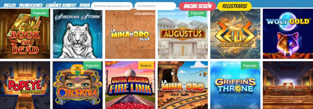 Prueba todas las máquinas tragaperras online disponibles en PlayJango