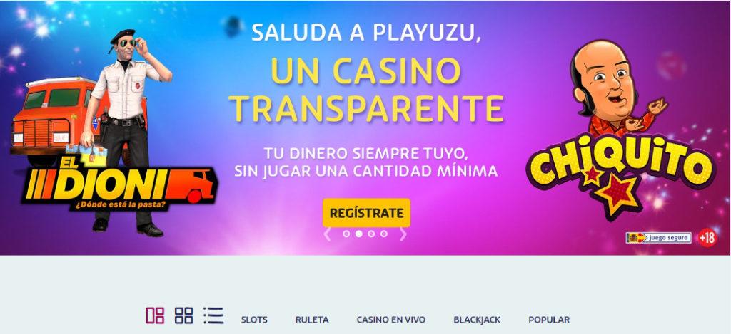 Juega en el casino online más transparente de España, PlayUZU