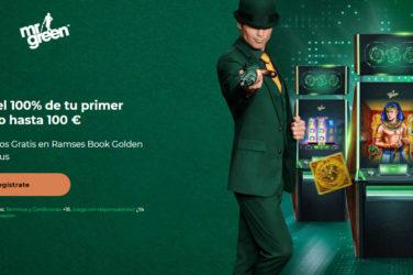 Recibe el bono de bienvenida de Mr Green casino